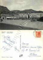 Cartolina di Bolzano, hotel e panorama - 1957