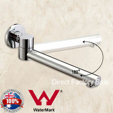Chrome Polish Bath Swivel Waterfall Spout Water Outlet Brass Faucet Wall Mount