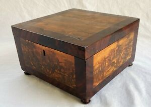 Scenes from Life of Simon Bolivar-Early 19th c.Box-NR