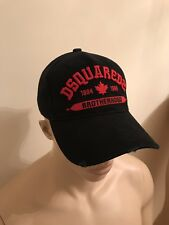 ***2017 New Dsquared2  Black Brotherhood Baseball Cap/Hat 2017 Special   ***