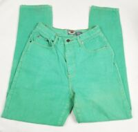 Limited Women's Jeans Pants Vintage Green Size 10 Denim tapered Mom