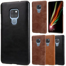 Vintage Matte Genuine Leather Case Cover For Huawei Mate 10 20 Pro/P20 P30 Pro