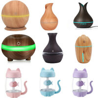 Essential Oil Aroma Diffuser Aromatherapy Ultrasonic Humidifier Air Purifier US