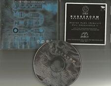 RUBBEROOM Sector Rush / Evil 6TRX w/ RARE & INSTRUMENTAL PROMO DJ CD single 1999