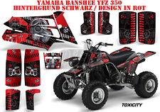 Amr racing décor Graphic Kit ATV yamaha le Hurleur yfz 350 toxicity B