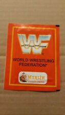 WWF, 1992, Merlin, Unopened Pack With 6 Stickers