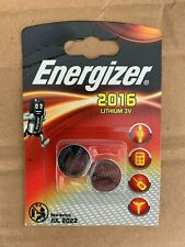 Energizer CR2016 3V Lithium Coin Cell Battery DL 2016 - Pack of 2 Longest Expiry