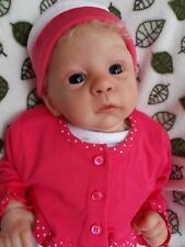 """❤ Precious 22-23"""" Reborn Baby Girl Doll Small Toddler Harlow by Laura Tuzio Ross"""