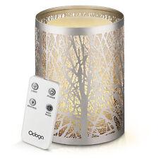 Odoga Aromatherapy Oil Diffuser with Decorative Silver Cover and Remote control