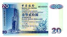Hong Kong … P-329a … 20 Dollars … 1994 … *Choice Unc*.