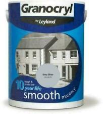 Granocryl Smooth Masonry Grey Skies 5L Exterior TOUGH + 10 YEAR PROTECTIVE