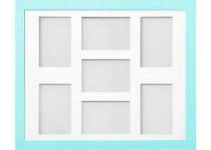 Frame Company Candy Aqua Blue Multi Aperture Collage Photo frame & Mount