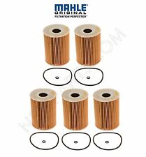 Set of 5 MAHLE Oil Filter's for Mercedes Dodge Sprinter