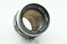 """""""TESTED / Near Mint!!"""" CANON 50mm f1.4 Leica screw mount L39 LTM From JAPAN"""