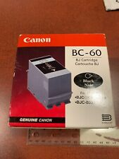 Canon BC-60 Black Ink Cartridge for BJC-7000 series & BJC-8000 NEW FREE SHIPPING