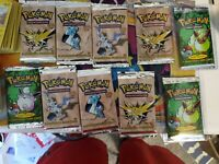 1/10 Vintage 1st edition pack,10 card lot, VINTAGE WOTC HOLO GUARANTEED
