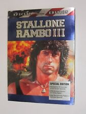 Rambo III (DVD, 2003, 2-Disc Set, Special Edition Sensormatic Security Tag) NEW