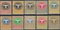 SALE Stamp Germany Revenue WWII Fascism War Era Medical Insurance Set MNH