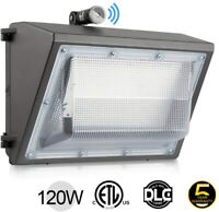 120W LED Wall Pack Commercial Industrial Light Outdoor Security Lighting Fixture