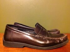 Echt Mokassin Shoes Brown Leather Loafers Men's Size 6 Germany Driving Moccasins