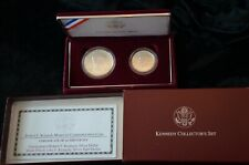 1998-S Robert F. Kennedy and Jfk Matte Silver Commemorative Coin Set/Ms 69 Each
