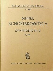 Dimitrij Schostakowitsch, Symphonie Nr. 8 Op. 65 Mini Score