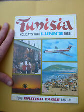More details for  bea british eagle bac 1 11 1-11 airline aviation lunn's holiday brochure