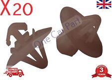20x Plastic Clips for Vauxhall Vivaro Side Moulding/Lower Protection Door Trim