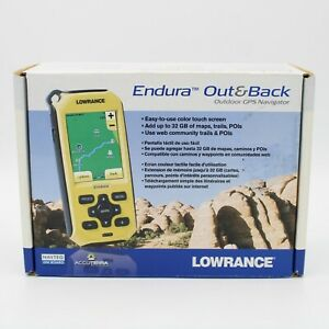 Lowrance Out & Back Outdoor GPS Navigator NOS Tested And Working