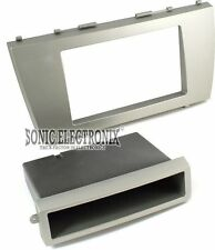 Scosche TA2058B Single/Double DIN Installation Dash Kit for 2007-Up Toyota Camry