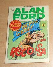 EDITORIALE CORNO  SERIE  ALAN FORD  N°  88   1976   ORIGINALE !!!!! NO AGENDINA