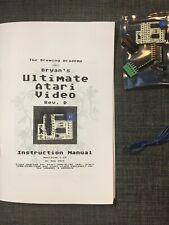Ultimate Atari Video (UAV) board for Atari 2600, 5200, 7800, 400, 800, XL, XE