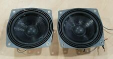 "Vintage BMW Sound System 5"" Speakers ITT W Germany 49134 30113 Tested!"