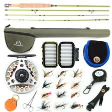 Maxcatch Ultra-lite Fly Fishing Rod Combo Kit 2/3wt,Fly Rod and Reel Outfit