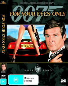 For Your Eyes Only DVD (PAL, 2001) FREE POST