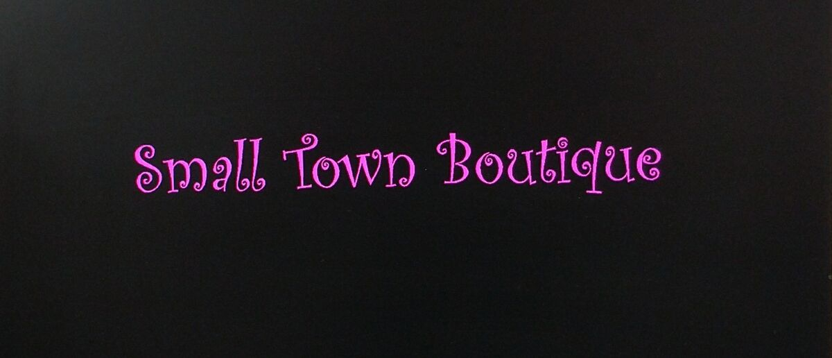 The Small Town Boutique