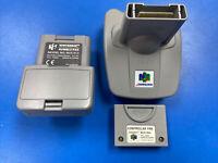 Nintendo 64 - Official RUMBLE PAK N64 & Transfer Pack NUS-013 NUS-019 Controller