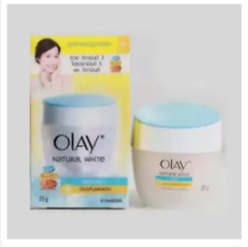 2 x Olay Natural White Light Whitening Cream 25 g. Day Cream
