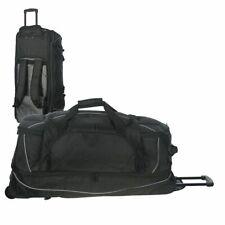Reisetasche mit Rollen und Rucksackfunktion Trolley Tasche Reise Dermata schwarz