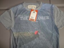 New With Tags Blue Bellfield Brand THE EXPLORER Sloane T Shirt Fits Size M EXCEL
