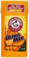 Arm & Hammer Ultra Max Solid Antiperspirant Deodorant, Fresh, 2.6 oz (7 Pack)