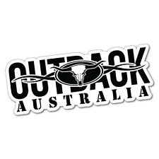OUTBACK AUSTRALIA Sticker Decal Outback 4x4 Ute Country Aussie