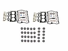 For Audi A4 VW Passat Set of 2 Engine Cylinder Head Gasket Set+Seal Victor Reinz