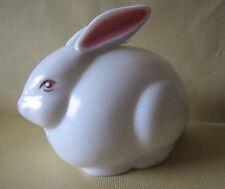 vtg Hard Plastic Cotton Picker Rabbit dispenser~Get Cotton Balls Out Of His Tail