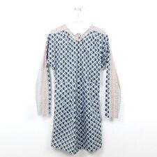MARNI AT H&M Kleid Dress Neckholder Multicolor Gr. 34 XS