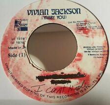 "Tony Tuff , I Can't Hide , 7"" Vivian Jackson Label"