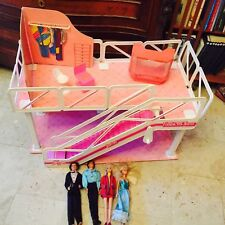 casa barbie FASHION PLAZA mattel anni 80 + barbie e ken in regalo