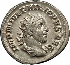 Philip I 'the Arab' Silver Ancient Coin Equality Fair trade Symmetry  i52052