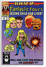 What If Vol 2 No 30 Oct 1991 (VFN) FF's 2nd Child had Lived, G.S Special