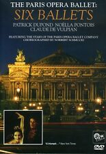 Paris Opera Ballet: Six Ballets (2008, DVD NUEVO) (REGION 1)